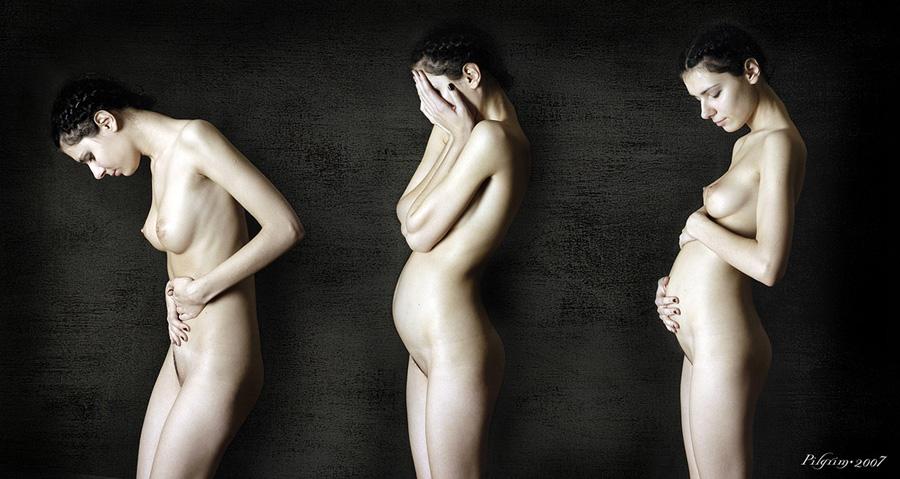 Ню беременных фото